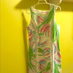 "Lilly Pulitzer ""Ring the Bellboy"" maxi NWT size 10"